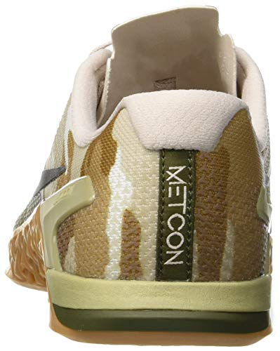 4 Brown Nike Med Gum White 300 Multicolore da Uomo Scarpe Canvas Olive Metcon Fitness 57q7p