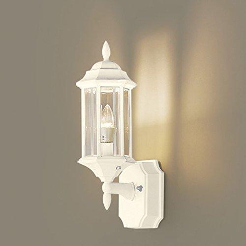 玄関照明 照明 玄関 屋外 LED クラッシック LPK-27型 クールホワイト E17 レトロ アンティーク風 B07CH9CFKN