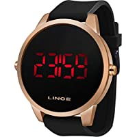 Relógio Lince Masculino Ref: Mdp4594l Pxpx Digital LED Rosé