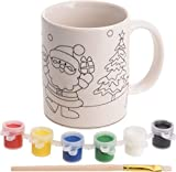 Carousel Toys and Gifts Paint Your Own Christmas Mug Xmas Craft Activity Kit - design may vary