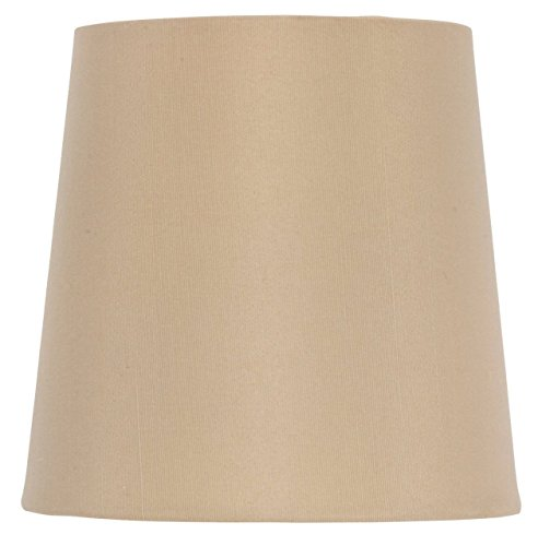 Upgradelights 5 Inch European Drum Style Chandelier Lamp Shade Mini Shade Antique Gold Silk(Ui5)