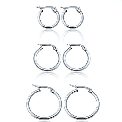 Jstyle Jewelry Womens Earrings Stainless