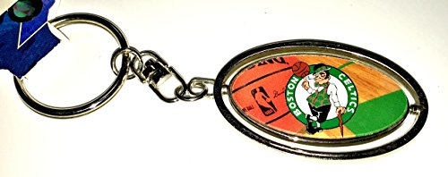 Boston Keychain Celtics - Boston Celtics Spinner Keychain