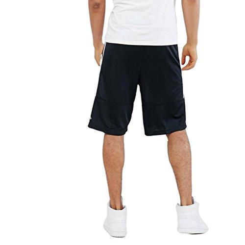 Solid Basket Rise bianco Uomo Nero Pantaloncini Nike bianco 1BOS8WxqOw