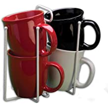 Grayline 40222, Twin Cup Stacker, White