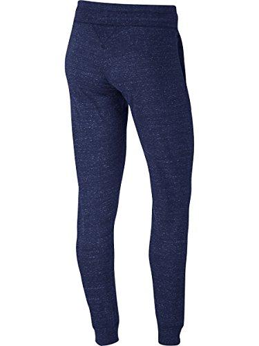 Nike W Nsw Gym Vntg Pantalón, Mujer azul (binary blue / sail)