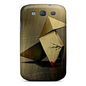 New Fashionable NikRun LgAEX243VggWp Cover Case Specially Made For Galaxy S3(heavy Rain Origami)