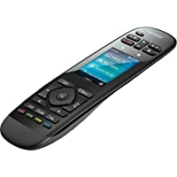 Logitech Harmony Ultimate One 15-Device Universal Remote with 2.4 Color Touchscreen, Favorite-Channel Icons and Rechargeable Battery (Black)