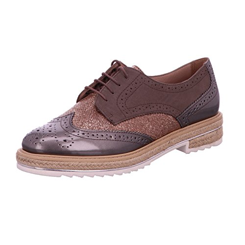 Jana 88 23710 28 341, Chaussures à lacets femme Taupe