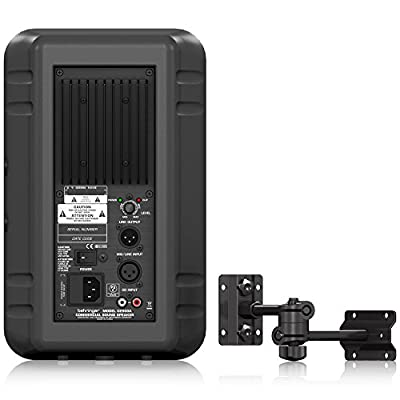 Behringer CE500A-BK High-Performance, Active 80-Watt Commercial Sound Speaker System from Behringer USA