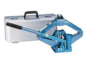 Blauer Hydraulik Scherenwagenheber