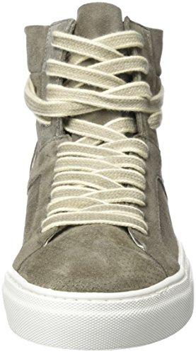 Liebeskind Berlin Lh173010 Suede, Sneaker a Collo Alto Donna Grau (Street Grey)