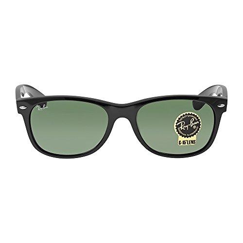 ray-ban-rb2132-new-wayfarer-non-polarized-sunglasses-black-frame-crystal-green-lens-size-55