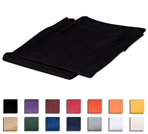 College Colors Pillowcases 100% Brushed Microfiber, Hypoallergenic Pillow Cover - Dorm Bedding Soft, Stain, Fade Wrinkle Resistant (Standard 20