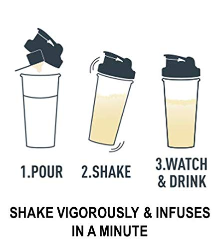 ISOPURE INFUSIONS, Refreshingly Light Fruit Flavored Whey Protein Isolate Powder, ''Shake Vigorously & Infuses in a Minute'', Citrus Lemonade, 16 Servings by Isopure (Image #6)