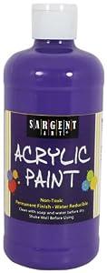 Sargent Art 24-2442 16-Ounce Acrylic Paint, Violet