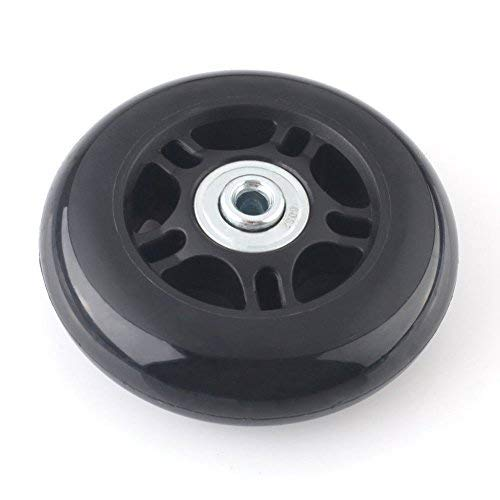 F-ber Luggage Suitcase Wheels Replacement Kit 90x24mm/3.54