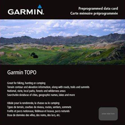 Garmin TOPO East Canada microSD