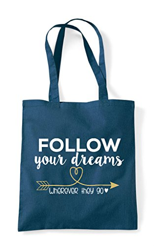Follow Shopper Your Petrol Dreams Tote They Wherever Bag Go UOHUwq