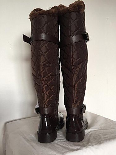 Brown Boot Womens Bamboo Stormy Womens Fur Bamboo Rain Fur Stormy Boot qFv4p