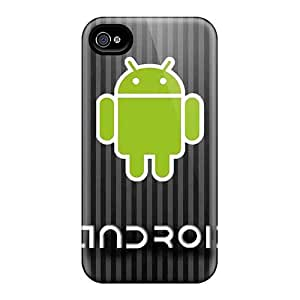 Premium Protection Android Stripes Cases Covers For Iphone 6- Retail Packaging