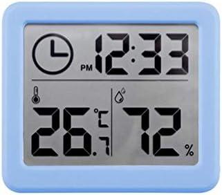 Penaio Haushaltsthermometer Trockenfeuchtemessgerät für Innenräume für Kühlschrank Gefrierschrank Kühlschrank Aquarium Garten Büro Babyraum Blau