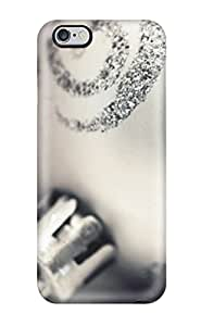Snap On Case Cover Skin For Iphone 6 Plus(silver Christmas Tree Ornament)