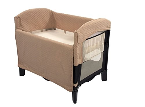 Arms Reach Concepts Ideal Co Sleeper Solid Without Skirt Blacktoffee