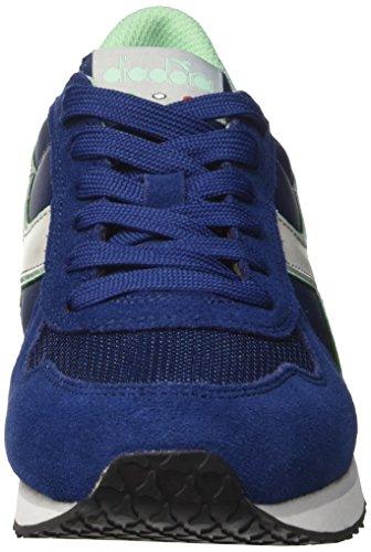 Blu Mujer Alluminio K Diadora para Estate Zapatillas Azul Run W Grigio WUTW7Rq0g