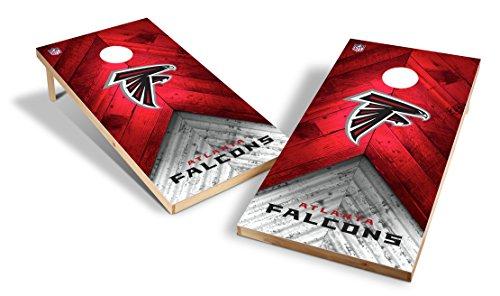 Wild Sports NFL 2'x4' Atlanta Falcons Cornhole Set