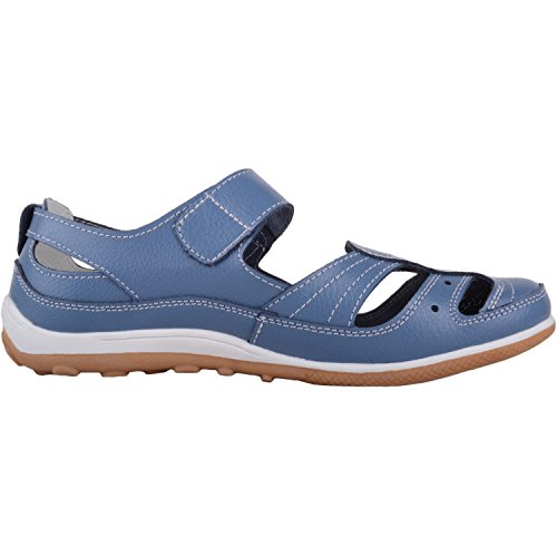 Blueberry Footwear Shoes Womens Holiday Absolute Fastening with Ripper Leather Strap Casual Summer qPZdFC