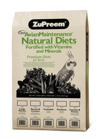 ZuPreem Natural Premium Daily Parakeet