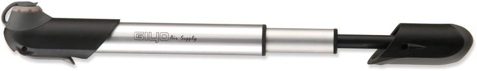 GIYO GP-06A Inflador de Mano, Unisex Adulto, Gris, Talla única