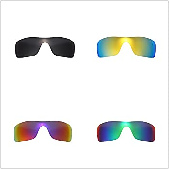 89ee1f4c45 ... Set of 4 Polarized Replacement Lenses for Oakley Batwolf Sunglasses  NicelyFit ...