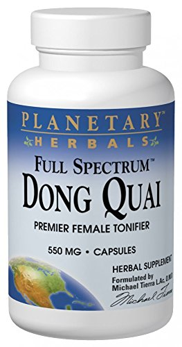 Planetary Herbals Full Spectrum Dong Quai Capsules, 60 Count For Sale