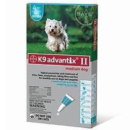 Flea Treatment for Dog 11-20 lbs (4 Pack)
