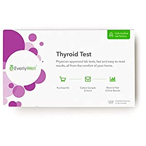 Everlywell Thyroid Test – at-Home Collection Kit – Accurate Results from a CLIA-Certified Lab Within Days -Ages 18+ (Not…