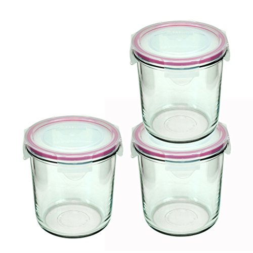 glass container 24 oz - 3