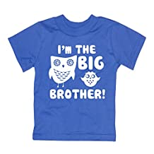 Happy Family Clothing Little Boys' I'm The Big Brother T-Shirt