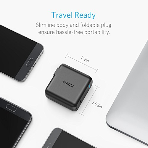 Anker USB Type-C with Power Delivery 30W USB Wall Charger, PowerPort Speed 1 for Nexus 5X / 6P, LG G5, Pixel C, Samsung W700, MacBook 2015 / 2016, Mate Book, HP Spectre, Moto Z and more
