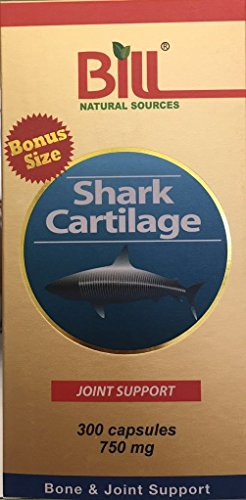 Bill Natural Sources Shark Cartilage, 300 capsules