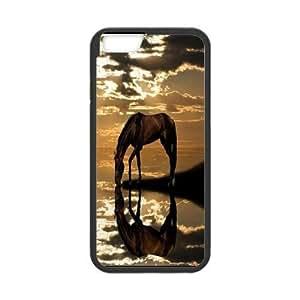 "Customized iPhone6S Plus 5.5"" Cover Case, Personalized iPhone6S Plus 5.5"" Phone Case - Horse"