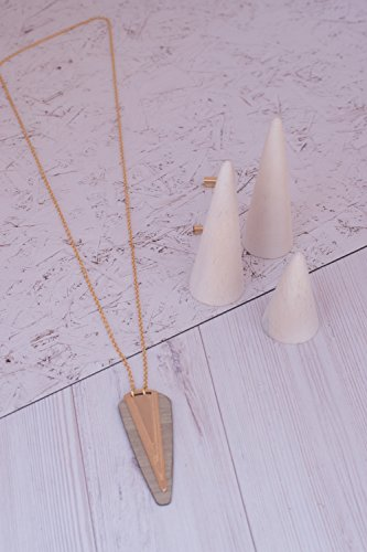 Geometric Spike (Long Geometric Necklace, Arrow jewelry, Spike Everyday Layer Long Necklace, Triangles Necklace, Boho Necklace, V Necklace, Modern Necklace)