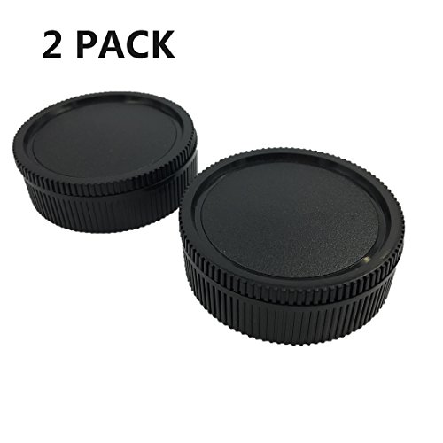 LXH Camera Front Body Cap & Rear Lens Cap Cover Kit for Leica R LR Mount Lenses Fits Leica R3/R4 R5/R6/R7/R8/R9/Leicaflex SL/Leicaflex SL2 SLR/R, Rom, One-Cam, Two-Cam, Three-Cam (Leica R Lens)