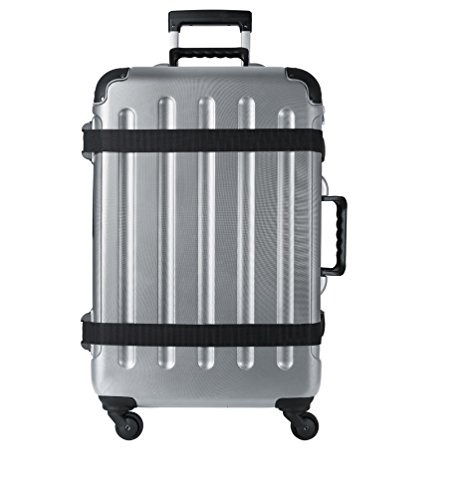 VinGardeValise Wine Travel Suitcase (12 Bottle) Newest Model (One Size, Silver) by Vin Garde Valise