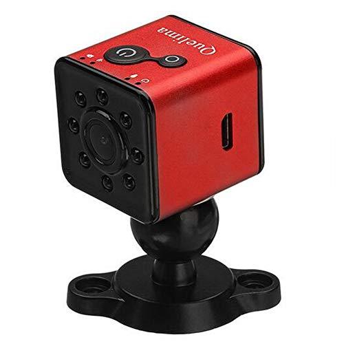 Hitommy Quelima SQ13 Mini HD 1080P Car DVR DV Camera - Red