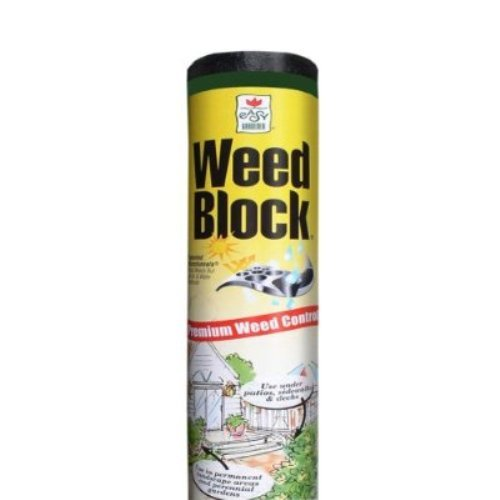 WeedBlock Premium 3 Year Landscape Fabric For Weed Control, 6 feet x 50 feet (2 Pack) (Patio Blocks Face Brick)