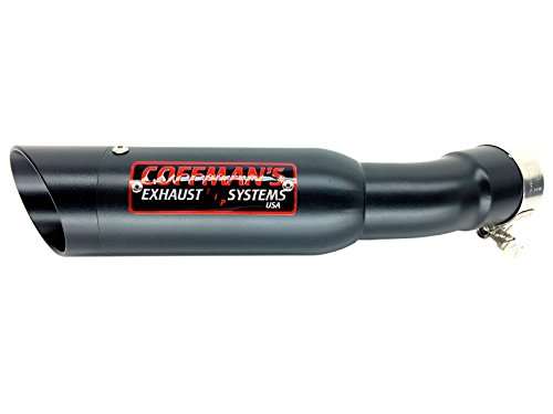 Coffman's Shorty Exhaust for Yamaha FZ8 (2011-2013) Fazer 8 (2010-2012) Sportbike with Black Tip