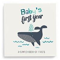 Libro de memorias del primer año de Lucy Darling Baby: Un libro sencillo de primicias - Little Captain