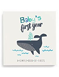 Lucy Darling Baby's First Year Memory Book: A Simple Book of Firsts - Little Captain BOBEBE Online Baby Store From New York to Miami and Los Angeles